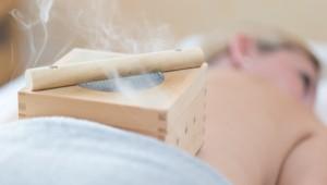 TCM Moxibustion Behandlung